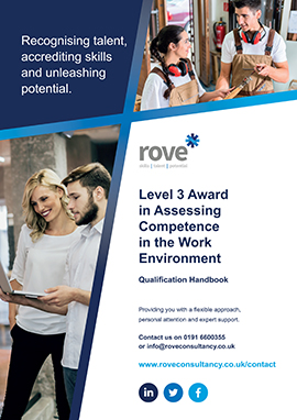 Level 3 Award in Assessing Competence in the Work Environment