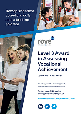 Level 3 Award in Assessing Vocational Acheivement
