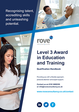 Level 3 Award in Education and Training