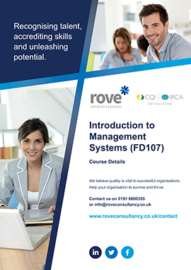 Introduction To Management Systems