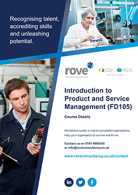 Introduction To Product and Service Management