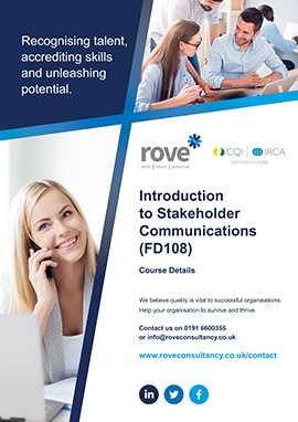 Introduction To Stakeholder Communications