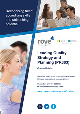 Leading Quality Strategy and Planning
