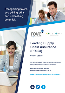 Leading Supply Chain Assurance
