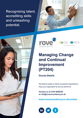 Managing Change and Continual Improvement