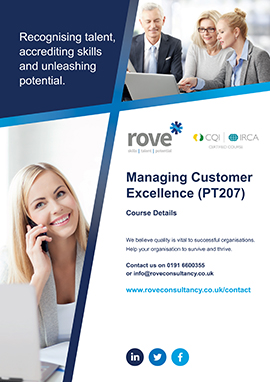 Managing Customer Excellence