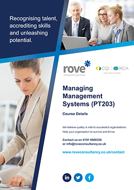 Managing Management Systems