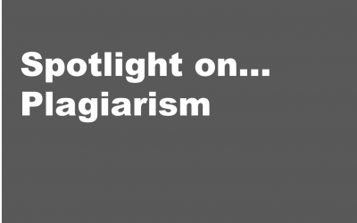 Spotlight on… Plagiarism