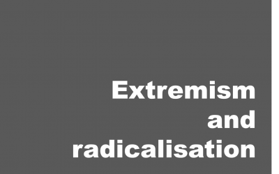 Extremism and radicalisation
