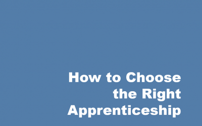 How Do You Choose the Right Apprenticeship?
