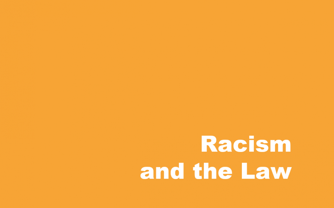 Racism and the Law