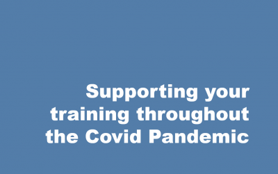 Supporting your training throughout the Covid Pandemic