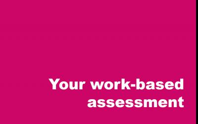 Understanding your work-based assessment